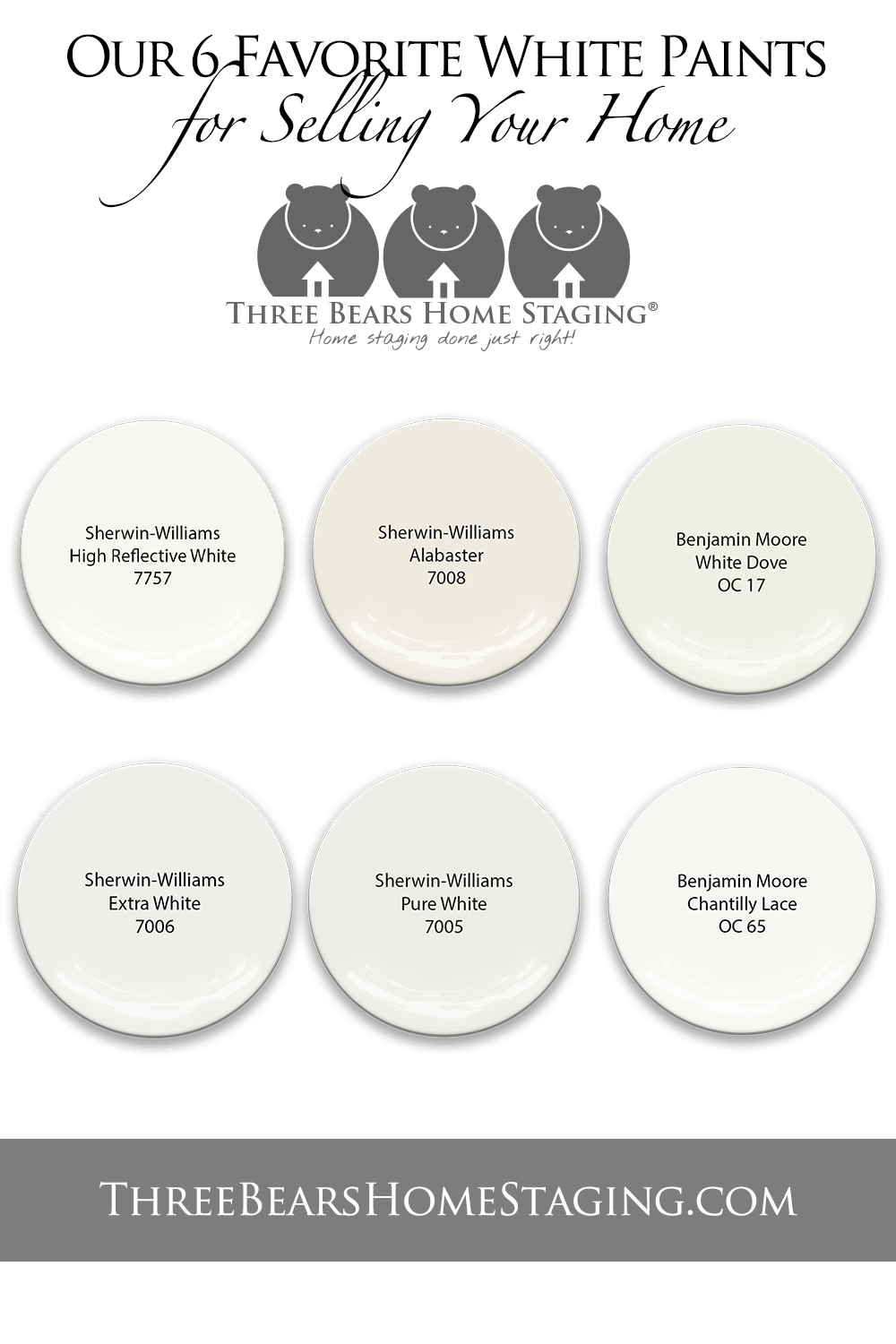 Our 6 Favorite White Paints For Selling Your Home